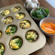 Bacon & Veggie Egg Bake