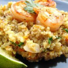 Basil-Shrimp-Quinoa