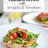 Chicken-Breast-with-Arugala-and-Tomatoes