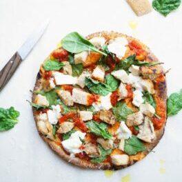 Chicken_Spinach_Pizza