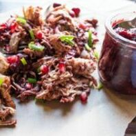 Cranberry BBQ Pulled Turkey