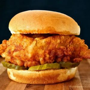 Dill chicken sandwich