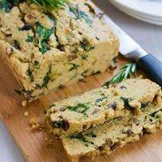 Mushroom Rosemary Olive Oil Bread