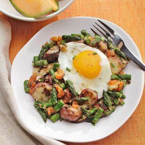 Potato-Asparagus-and-Mushroom-Hash