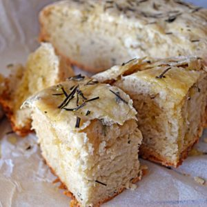 Rosemary and Olive Oil Crockpot Bread