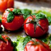 Slow-roasted-tomatoes