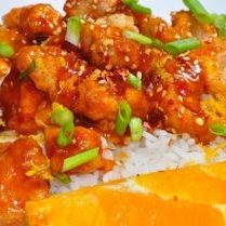 slow cooker chinese orange chicken